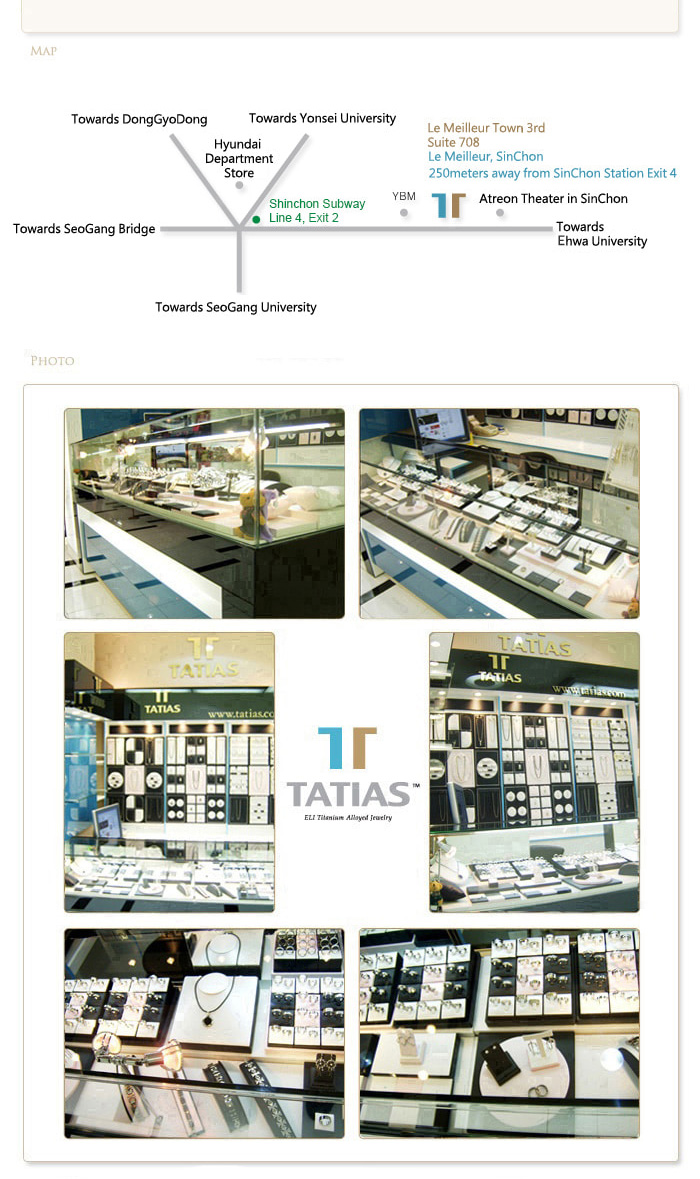 TATIAS Le Meilleur Store, SinChon Map and Photos