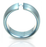 TATIAS Color Inlay Titanium Ring