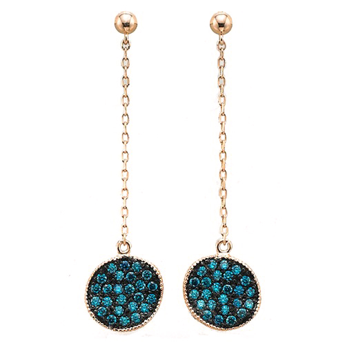 GE-012 - TATIAS, 14K & 18K Gold Earrings