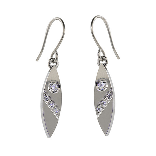 TEN-996 - TATIAS, Titanium Earrings or Ear Piercings
