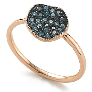 GR-012 - TATIAS, 14K & 18K Gold Ring