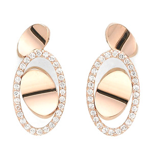 GE-017 - TATIAS, 14K & 18K Gold Earrings