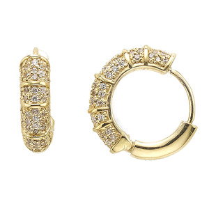 GE-679 - TATIAS, 14K & 18K Gold Earrings
