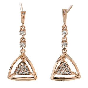 GE-503 - TATIAS, 14K & 18K Gold Earrings