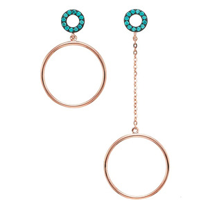 GE-105 - TATIAS, 14K & 18K Gold Earrings