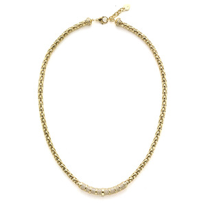 GC-679 - TATIAS, 14K & 18K Gold Chain Necklace