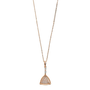 GN-503 - TATIAS, 14K & 18K Gold Pendant Necklace