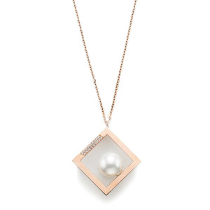 GN-505 - TATIAS, 14K & 18K Gold Pendant Necklace