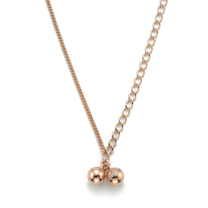 GN-100 - TATIAS, 14K & 18K Gold Pendant Necklace
