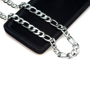 TC-129 - TATIAS, Titanium Chain Necklace