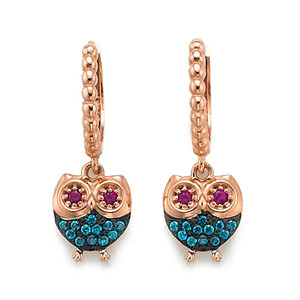 GE-063 - TATIAS, 14K & 18K Gold Earrings