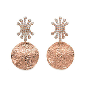 GE-139 - TATIAS, 14K & 18K Gold Earrings
