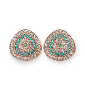 GE-311 - TATIAS, 14K & 18K Gold Earrings