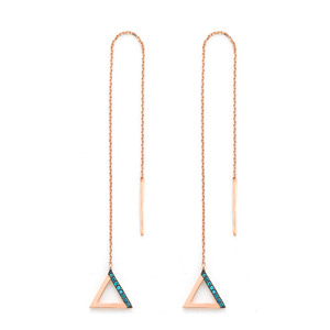 GE-323 - TATIAS, 14K & 18K Gold Earrings