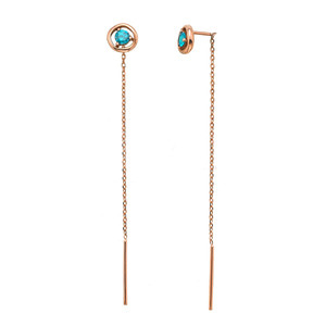 GE-510 - TATIAS, 14K & 18K Gold Earrings