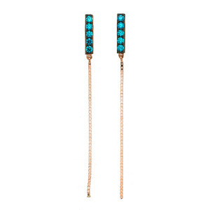 GE-538 - TATIAS, 14K & 18K Gold Earrings