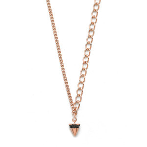 GN-032 - TATIAS, 14K & 18K Gold Pendant Necklace