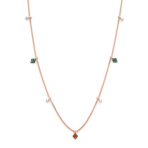 GN-181 - TATIAS, 14K & 18K Gold Pendant Necklace