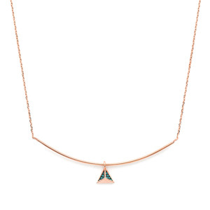 GN-509 - TATIAS, 14K & 18K Gold Pendant Necklace