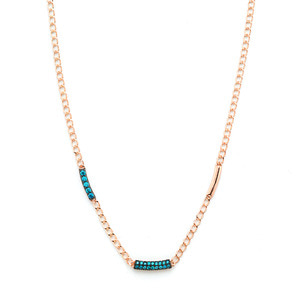 GN-538 - TATIAS, 14K & 18K Gold Pendant Necklace