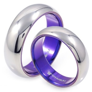 T-171 CO - TATIAS, Titanium Couple Ring