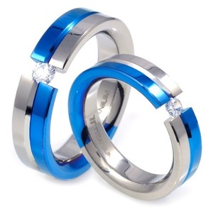 T-227 CO - TATIAS, Titanium Couple Ring