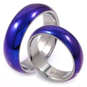 T-191 CO - TATIAS, Titanium Couple Ring