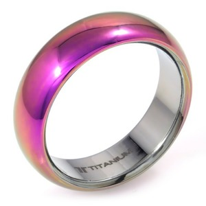 T-201 - TATIAS, Anodizing Colored Titanium Ring