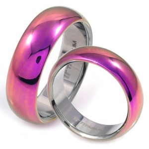 T-201 CO - TATIAS, Titanium Couple Ring