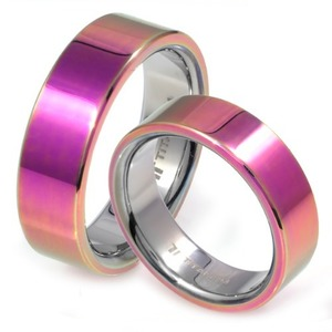 T-203 CO - TATIAS, Titanium Couple Ring