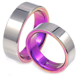 T-173 CO - TATIAS, Titanium Couple Ring