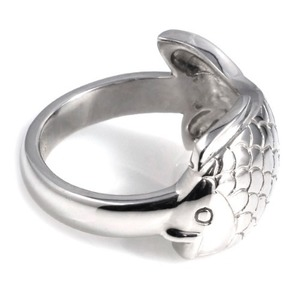 SR-419 (Peter Fish Silver Ring Special Edition) - TATIAS, Peter Fish Silver Ring
