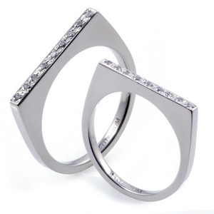 T-276 CO - TATIAS, Titanium Couple Ring