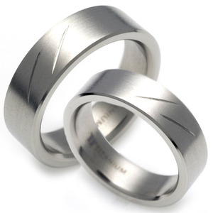 T-011 CO - TATIAS, Titanium Couple Ring