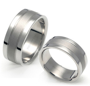 T-021 CO - TATIAS, Titanium Couple Ring