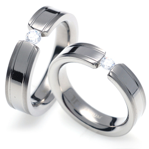 TQ-206 CO - TATIAS, Titanium Couple Ring