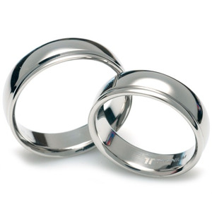 T-081 CO - TATIAS, Titanium Couple Ring