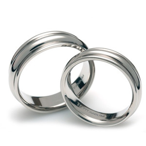 T-082 CO - TATIAS, Titanium Couple Ring