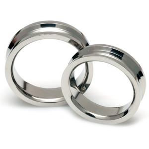 T-084 CO - TATIAS, Titanium Couple Ring