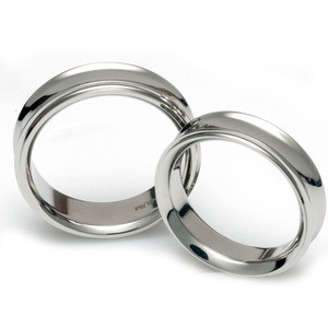 T-085 CO - TATIAS, Titanium Couple Ring