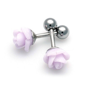 TEP-202 - TATIAS, Titanium Earrings or Ear Piercings