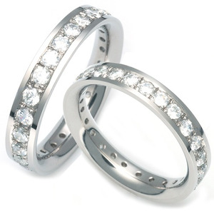T-960 CO - TATIAS, Titanium Couple Ring