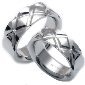 T-125 CO - TATIAS, Titanium Couple Ring