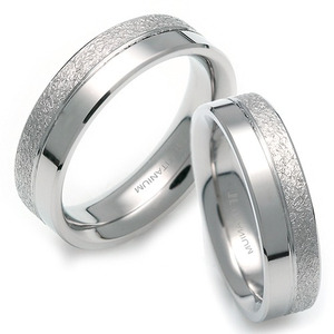 T-012 CO - TATIAS, Titanium Couple Ring