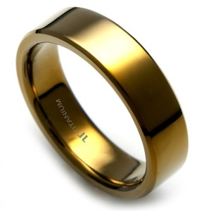 T-122 - TATIAS, Anodizing Colored Titanium Ring