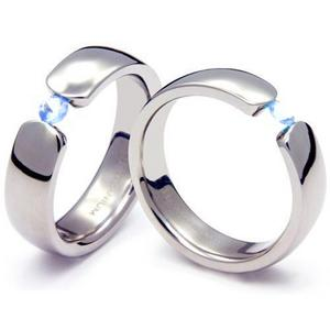 TQ-202 CE - TATIAS, Titanium Couple Ring