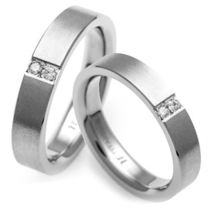 T-856 CO - TATIAS, Titanium Couple Ring