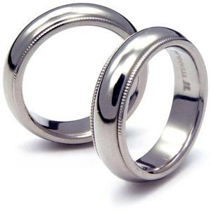 TT-026 CE - TATIAS, Titanium Couple Ring