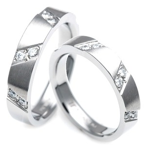 T-287 CO - TATIAS, Titanium Couple Ring