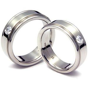 T-012D1 CO - TATIAS, Titanium Couple Ring